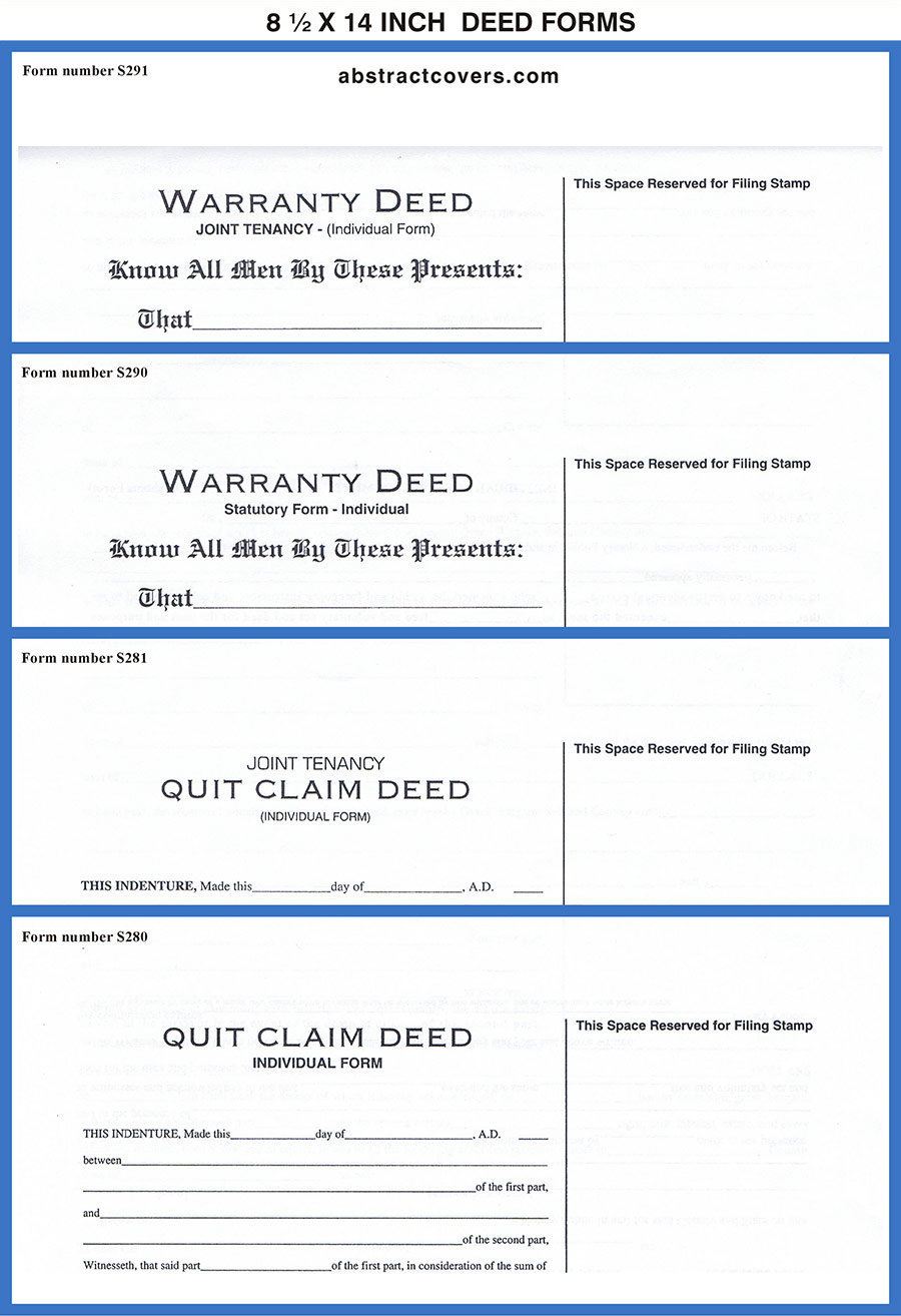 Deed Headings